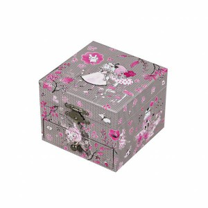 Coffret Musical a Bijoux Cube Alice