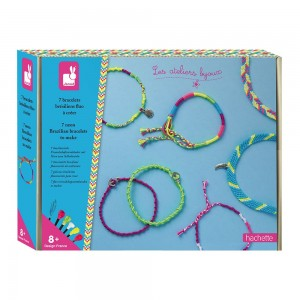 Kit Creatif 7 Bracelets Bresiliens Fluo a Creer