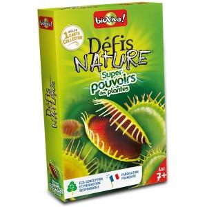 Defis Nature Super Pouvoirs des Plantes