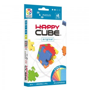 Happy Cube Pack Original 6 Couleurs