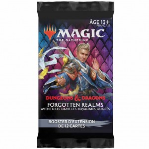 MTG Booster Dungeons & Dragons Forgotten Realms Extension FR
