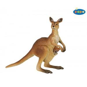 50023 Kangourou et son bebe