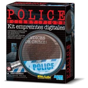 Kit empreintes digitales police scientifique - kidzlabs