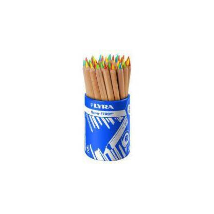 Crayon 4 Couleurs Super Ferby