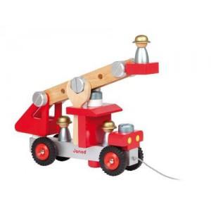 Camion de Pompier Bricolo - 2 jeux en 1