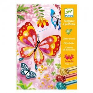 Tableaux a Pailleter - Papillons a Paillettes