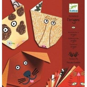 Initiation a l'origami - les animaux