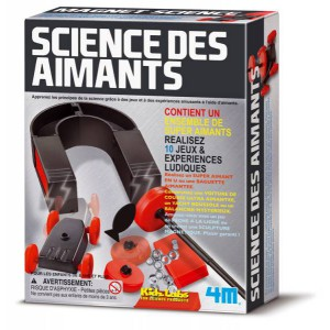 Kit science des aimants - kidzlabs