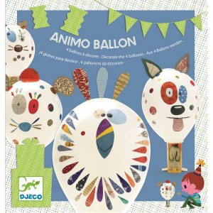 Kit 4 Animo Ballons a Decorer