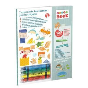 Stiki book - j'apprends les formes geometriques