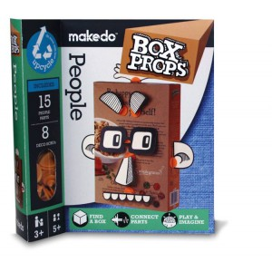 Makedo box props personnages