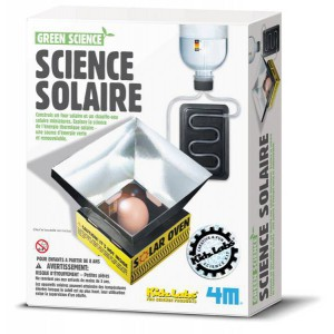 Kit science solaire- kidzlabs