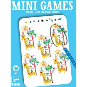Mini games - les indices de leo