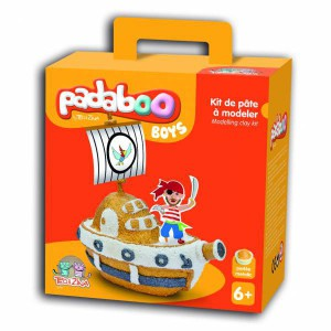 Kit Bateau de Pirate Padaboo - Teo et Zina