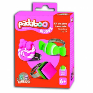 Kit 3 Bagues Bonbons Padaboo - Teo et Zina
