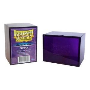 Boite de rangement de cartes - gaming box violet