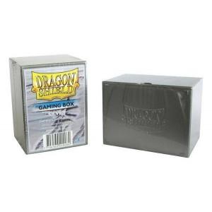 Boite de rangement de cartes - gaming box silver