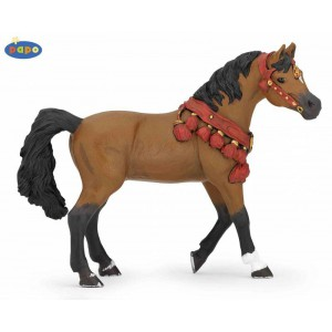 51547 Cheval arabe en tenue de parade