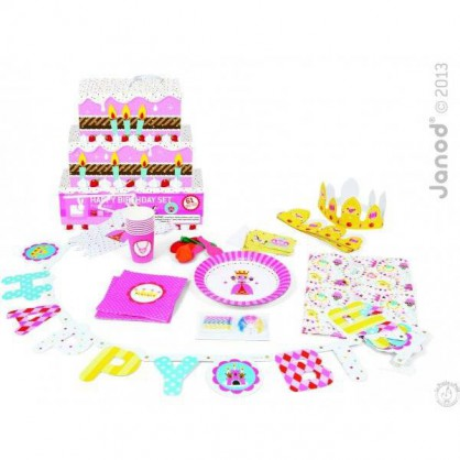 Set anniversaire princesse