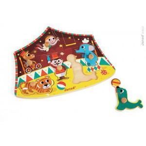 Puzzle Cirque des Etoiles 6 pieces a tenons