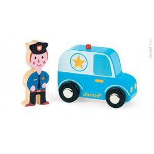 Story set city - Policier et sa voiture