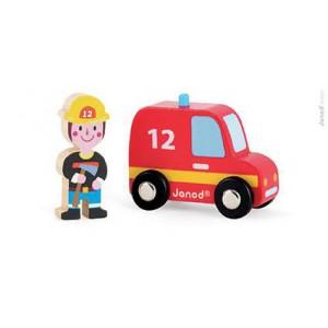 Story set Pompiers - Pompier et son Camion