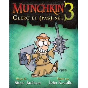 Munchkin 3 Clerc et Pas Net