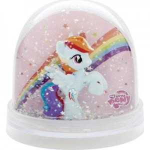 Globe Boule a Neige My Little Pony - Rainbow Dash