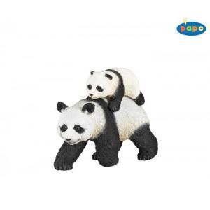 50071 Panda et son bebe