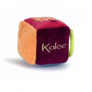 Cube d'activite en tissu - collection colors