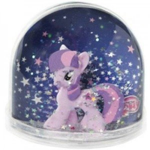Globe boule a neige - my little pony twilight sparkle