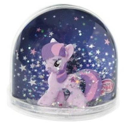 Globe boule a neige - my little pony twilight sparkle