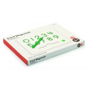 Magnatab Tablette Chiffres 0 à 9
