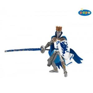 39387 roi au dragon bleu avec lance