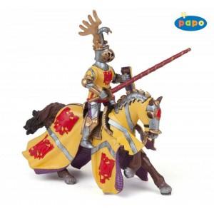 39764 cheval de godefroy au tournoi rouge