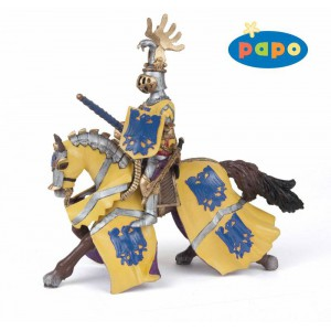 Cheval de godefroy au tournoi bleu