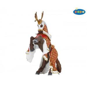 39912 cheval du maitre des armes cimier cerf