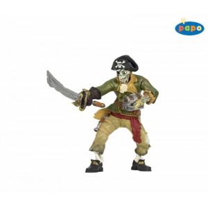 Pirate squelette zombie