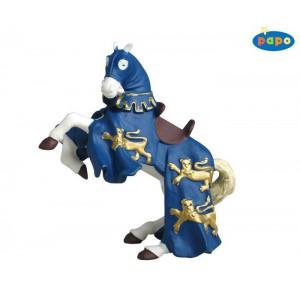 39339 cheval du roi richard bleu