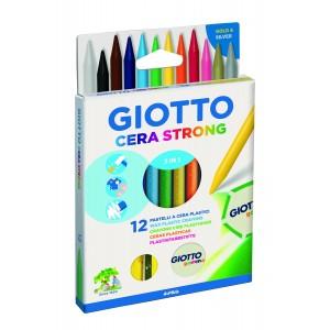 12 Crayons Cire Effacables