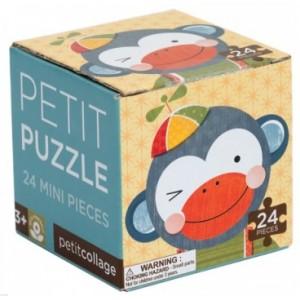 Petit Collage Puzzle Singe 24 pièces